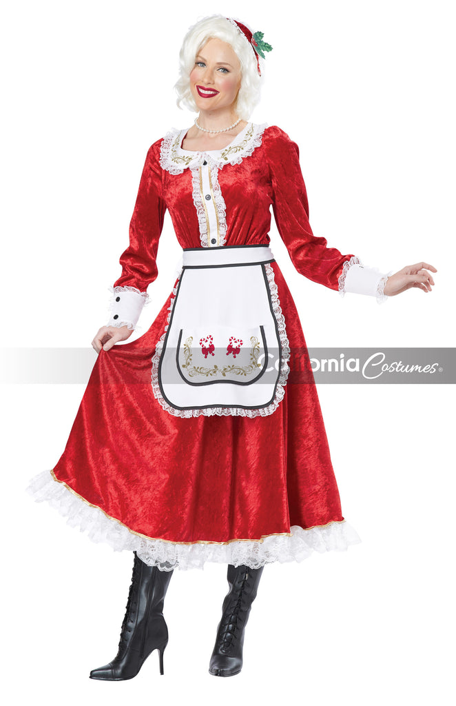 Classic Mrs. Claus costume by California Costumes #01556 at Buffalo Breath Costumes