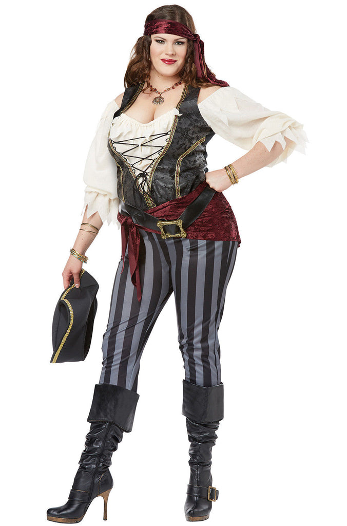 ... Brazen Buccaneer plus size womens pirate costume by California Costumes #01772 at Buffalo Breath Costumes  sc 1 st  Buffalo Breath Costumes & Brazen Buccaneer u2013 Buffalo Breath Costumes