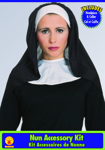 Nun Costume Accessory Kit by Rubie's 13651 at Buffalo Breath Costumes in San Diego