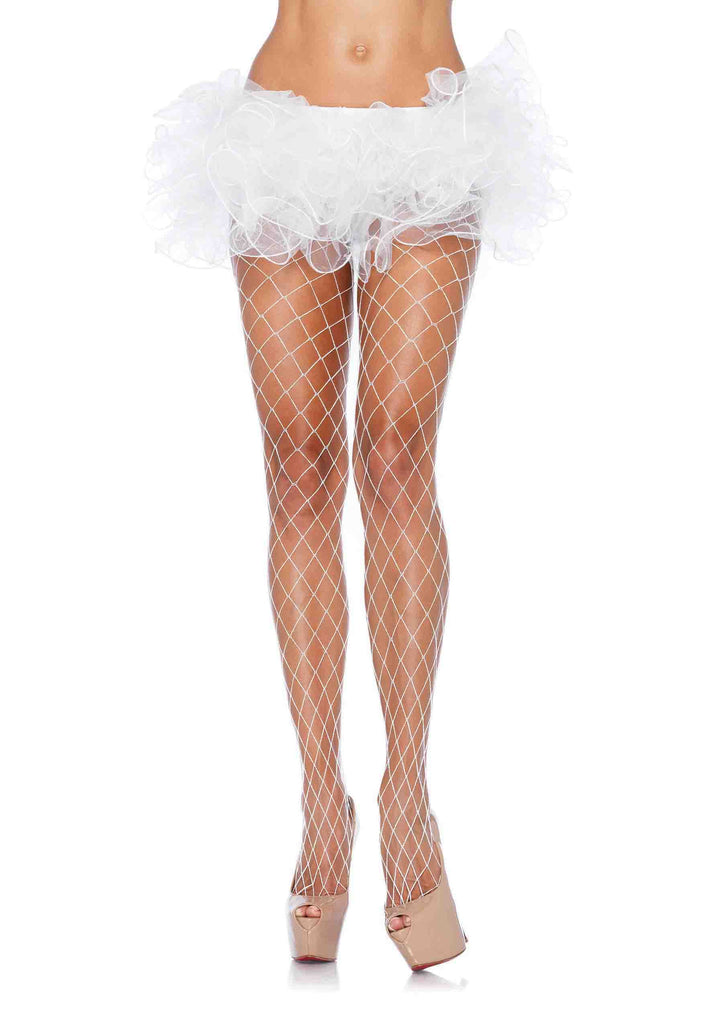 Fence Net Pantyhose in Accessories from LEGAVENUE at Buffalo Breath Costumes - 1