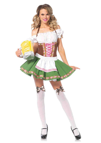 Gretchen german woman oktoberfest costume by Leg Avenue 83311 at Buffalo Breath Costumes