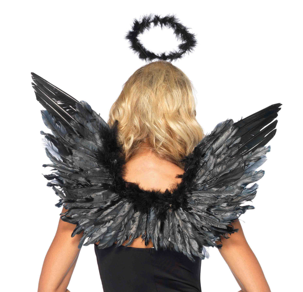 Angel Kit Black in Accessories from LEGAVENUE at Buffalo Breath Costumes