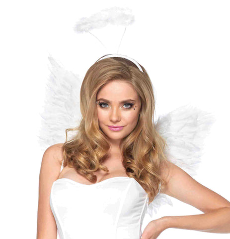 Angel Kit-White in Accessories from LEGAVENUE at Buffalo Breath Costumes