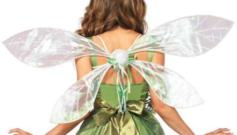 Iridescent pixie wings in Accessories from LEGAVENUE at Buffalo Breath Costumes