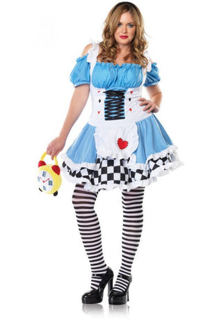 Miss Wonderland-1/2X in Packaged Costumes from LEGAVENUE at Buffalo Breath Costumes