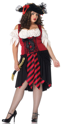Crimson Pirate in Packaged Costumes from LEGAVENUE at Buffalo Breath Costumes