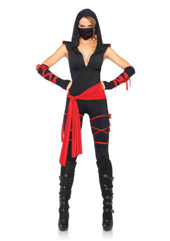 Deadly Ninja in Packaged Costumes from LEGAVENUE at Buffalo Breath Costumes