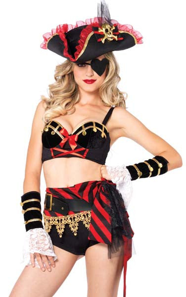 Darling Swashbuckler in Packaged Costumes from LEGAVENUE at Buffalo Breath Costumes
