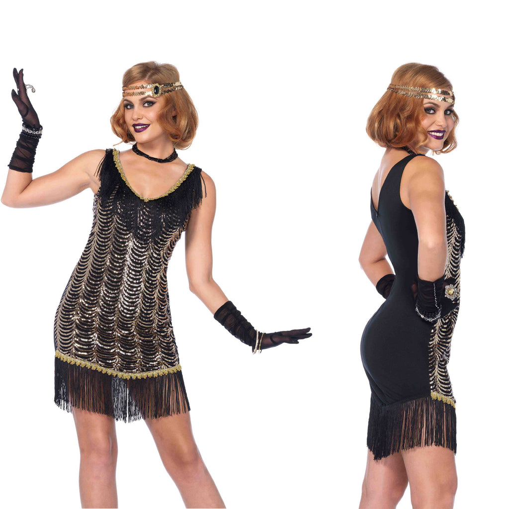 Charleston Charmer Leg Avenue 85542 1920's flapper costume