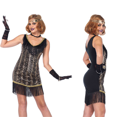Charleston Charmer Leg Avenue 85542 1920's flapper costume at Buffalo Breath Costumes in San Diego