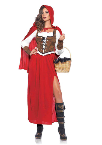 Woodland Red Riding Hood in Packaged Costumes from LEGAVENUE at Buffalo Breath Costumes