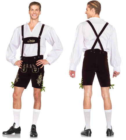 Oktoberfest Lederhosen german costume by Leg Avenue 85476 at Buffalo Breath Costumes
