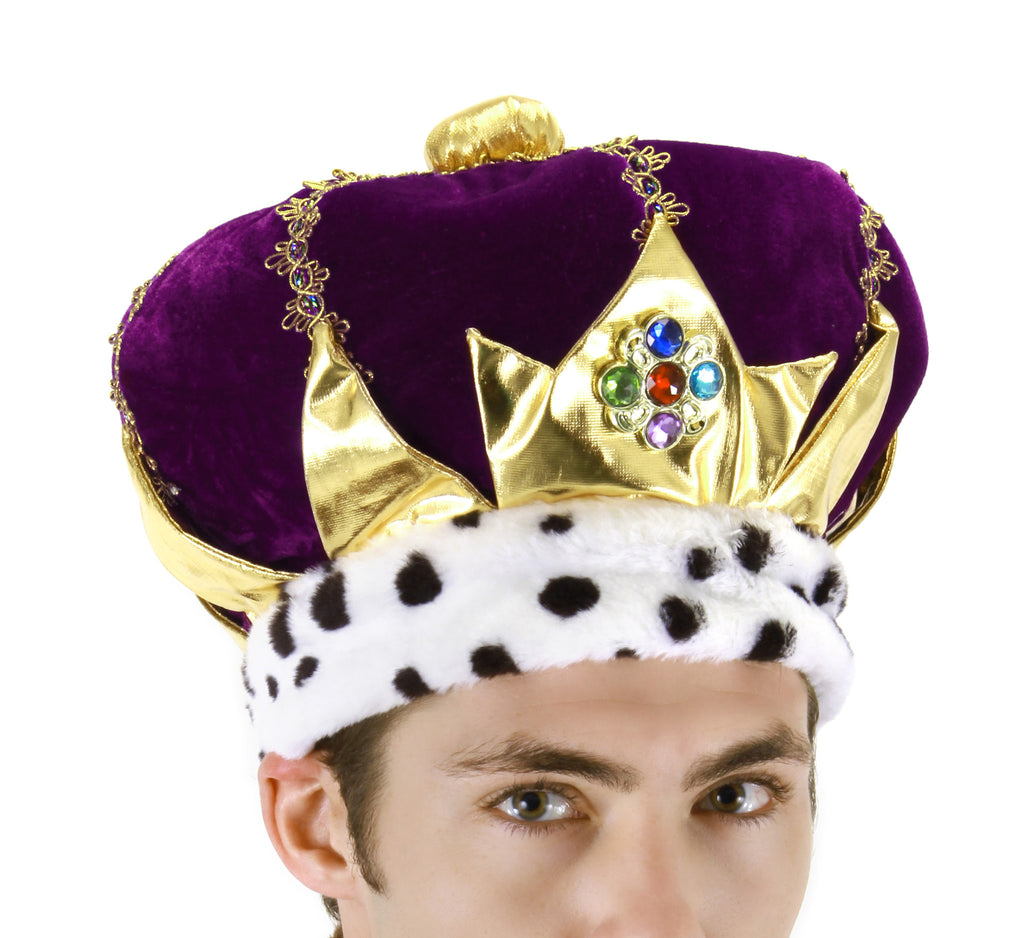 Crown Purple in Accessories from ELOPE at Buffalo Breath Costumes