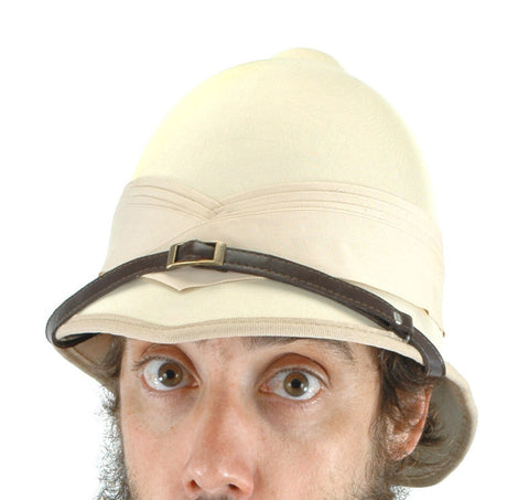 British Pith Helmet in Accessories from ELOPE at Buffalo Breath Costumes