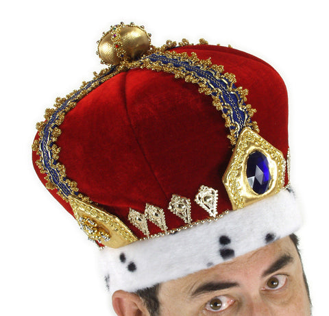 Royal King Crown in Accessories from ELOPE at Buffalo Breath Costumes