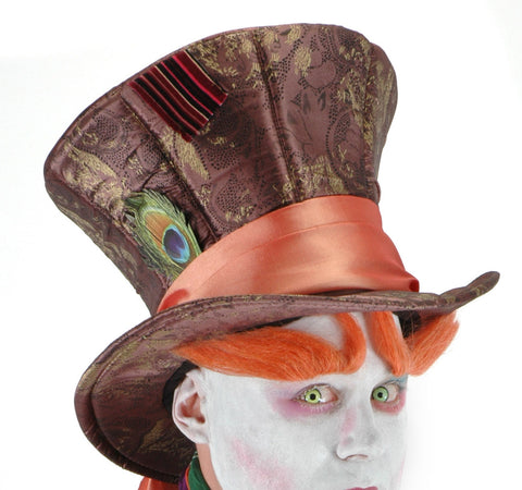 Mad Hatter Hat Movie Edition in Accessories from ELOPE at Buffalo Breath Costumes