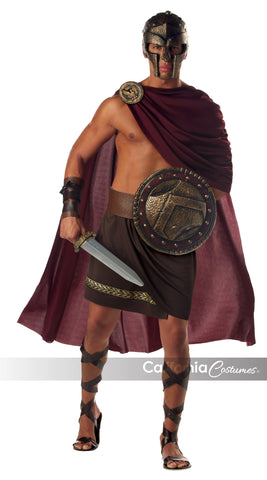 Spartan Warrior in Packaged Costumes from CALIFORNIA at Buffalo Breath Costumes