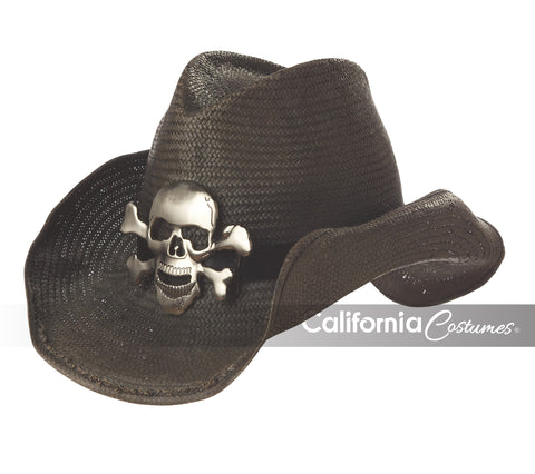 Cowboy Hat Black in Accessories from CALIFORNIA at Buffalo Breath Costumes