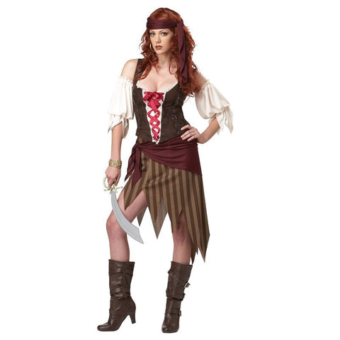 Buccaneer Beauty in Packaged Costumes from CALIFORNIA at Buffalo Breath Costumes - 1