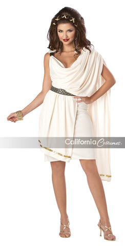 Women's Classic Toga in Packaged Costumes from CALIFORNIA at Buffalo Breath Costumes