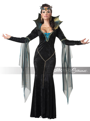 Evil Sorceress in Packaged Costumes from CALIFORNIA at Buffalo Breath Costumes