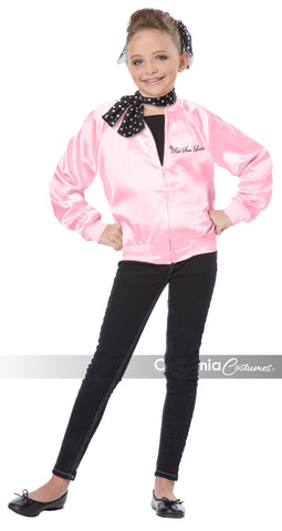 Pink Ladies Jacket in Packaged Costumes from CALIFORNIA at Buffalo Breath Costumes