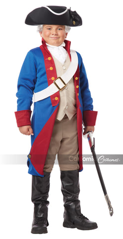 American Patriot child in Packaged Costumes from CALIFORNIA at Buffalo Breath Costumes