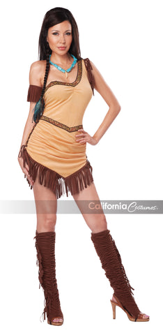 Native American Beauty in Packaged Costumes from CALIFORNIA at Buffalo Breath Costumes