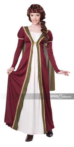 Medieval Maiden-XS in Packaged Costumes from CALIFORNIA at Buffalo Breath Costumes