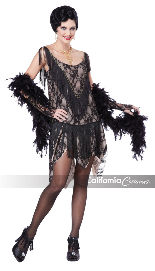 Gatsby Girl in Packaged Costumes from CALIFORNIA at Buffalo Breath Costumes