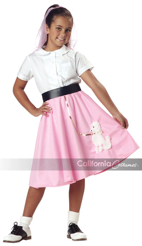 Poodle Skirt (Pink) in Packaged Costumes from CALIFORNIA at Buffalo Breath Costumes