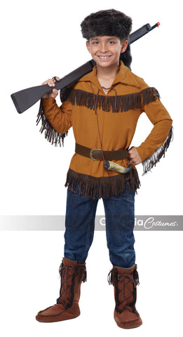 Frontier Boy in Packaged Costumes from CALIFORNIA at Buffalo Breath Costumes