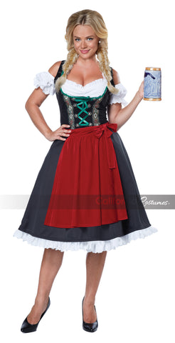 Oktoberfest Fraulein-Large in Packaged Costumes from CALIFORNIA at Buffalo Breath Costumes