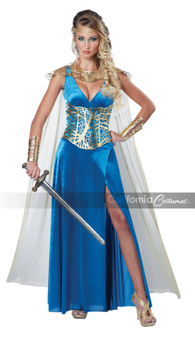 Warrior Queen in Packaged Costumes from CALIFORNIA at Buffalo Breath Costumes