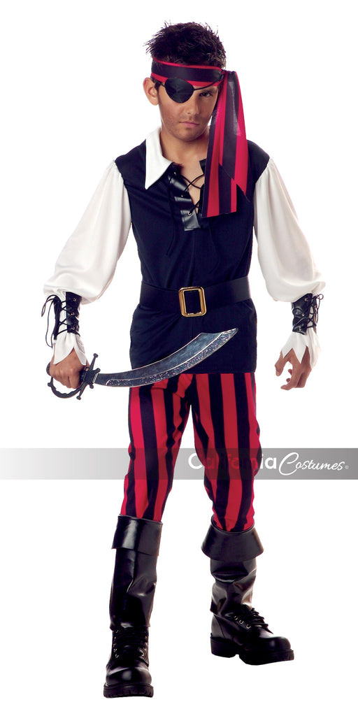 Cutthroat Pirate child in Packaged Costumes from CALIFORNIA at Buffalo Breath Costumes