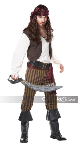 Rogue Pirate in Packaged Costumes from CALIFORNIA at Buffalo Breath Costumes