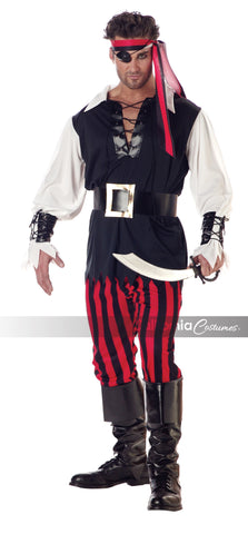 Cutthroat Pirate in Packaged Costumes from CALIFORNIA at Buffalo Breath Costumes