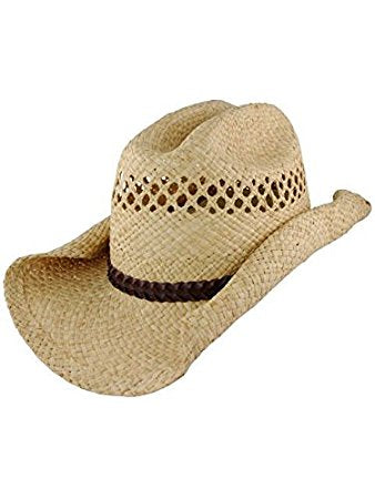 a1d26c1a449 Straw Cowboy Hat – Buffalo Breath Costumes
