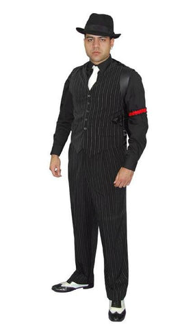 1920's Speakeasy Gangster costume for men at Buffalo Breath Costumes