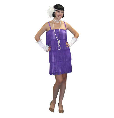 Flapper Lavender in Theatrical Costumes from BuffaloBreath at Buffalo Breath Costumes