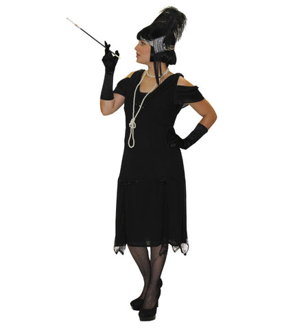 Gatsby Cap Sleeves in Theatrical Costumes from BuffaloBreath at Buffalo Breath Costumes