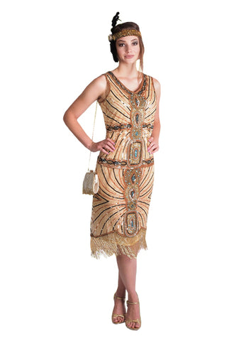 1920s Flapper Dress costume rental at Buffalo Breath Costumes