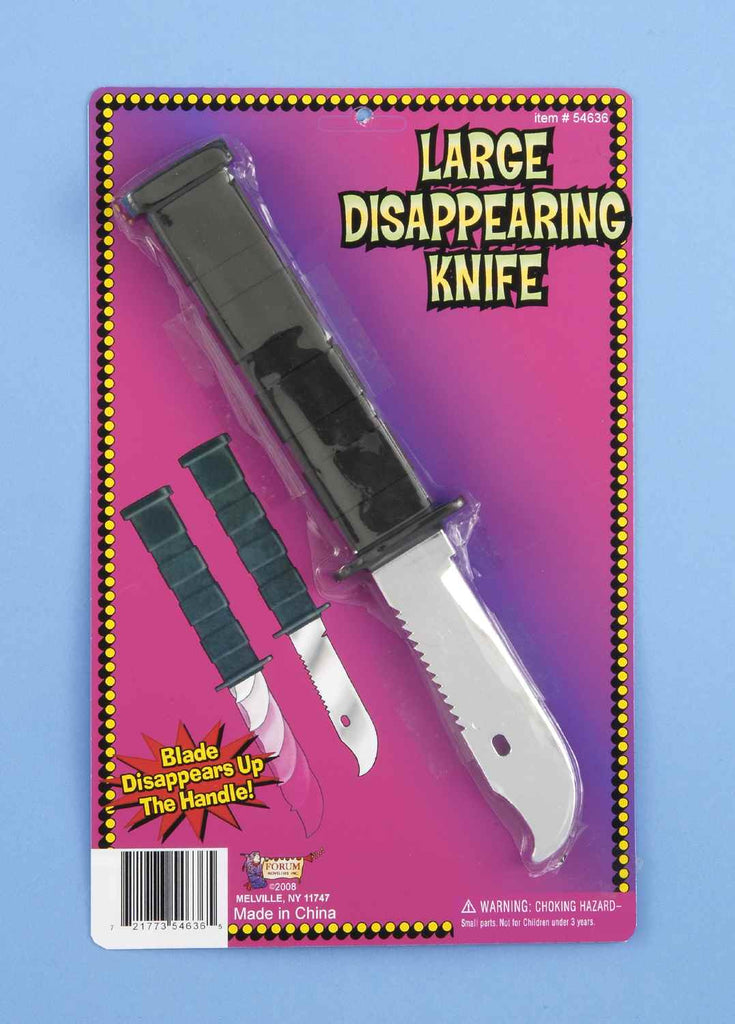 Deluxe Retractable Knife in Accessories from FORUM at Buffalo Breath Costumes