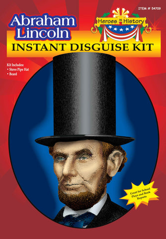 Abraham Lincoln Kit in Accessories from FORUM at Buffalo Breath Costumes