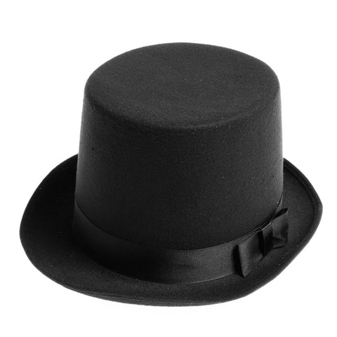 Mens Victorian Top Hat by Jacobson Hats at Buffalo Breath Costumes in San Diego
