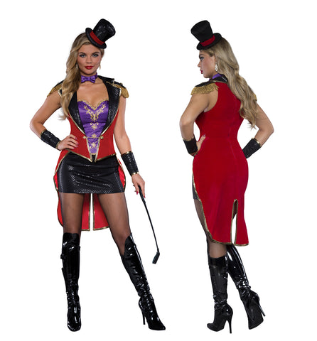 Racy Ringmistress costume