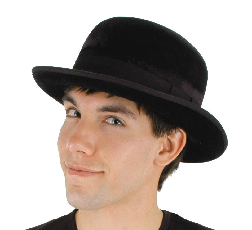 Bowler Black Hat by Elope 290031 at Buffalo Breath Costumes