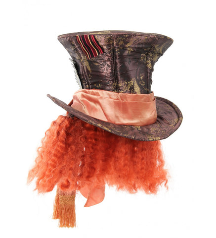 Mad Hatter Hat with Hair from Elope at Buffalo Breath Costumes 291060