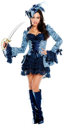Blue Victoria costume by Starline T3815 at Buffalo Breath Costumes
