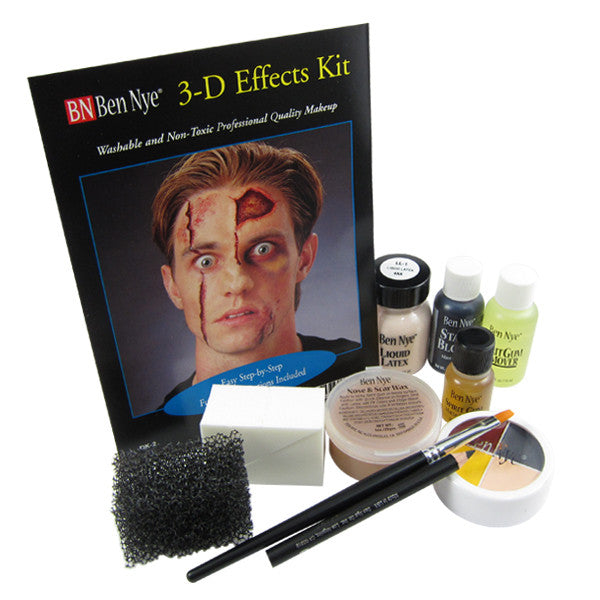 Ben Nye 3-D Effects Makeup Kit DK-2 at Buffalo Breath Costumes in San Diego